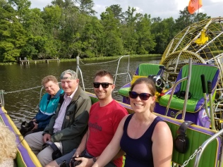 Airboat tour in St. Augustine
